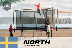 #22 North Trampoline – Durable and repairable trampolines of 100% recyclable materials