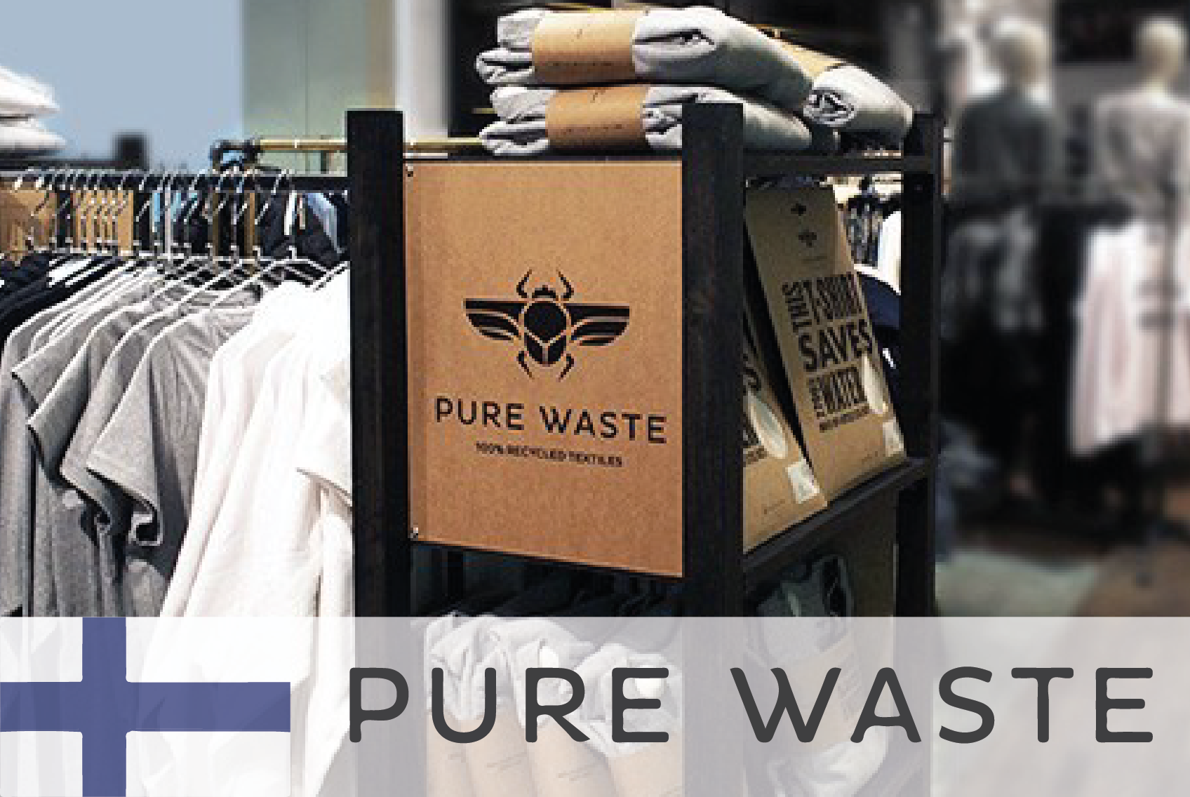 #34 Pure Waste Textiles – Reusing fibre waste from manufacturing - CIRCit Nord