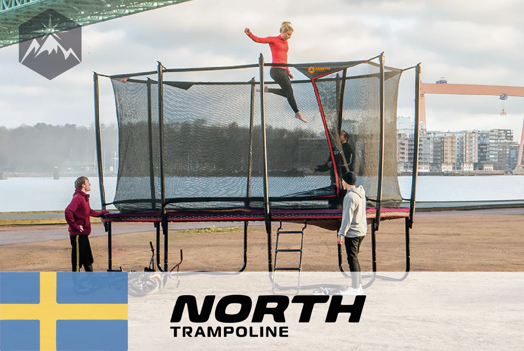 #22 North Trampoline - Durable and repairable trampolines of 100% recyclable materials - CIRCit Nord