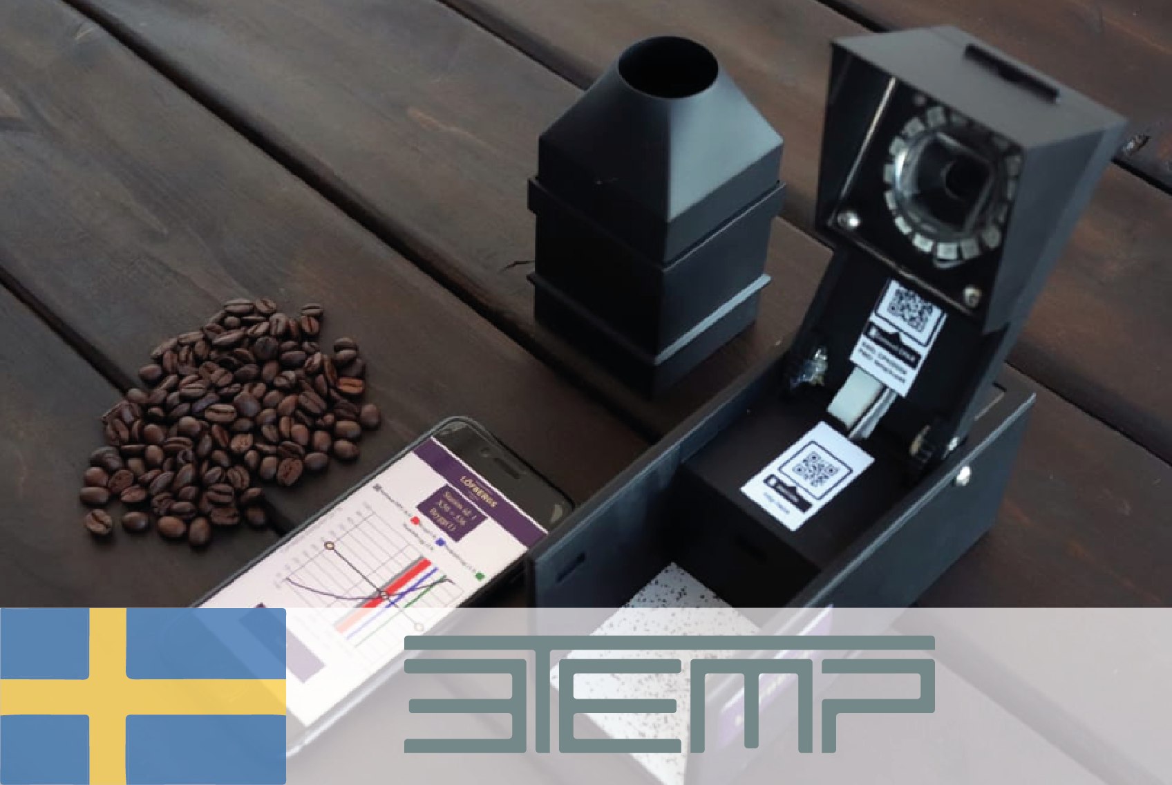 #7 3TEMP - Online coffee machine allows for efficient service and repair - CIRCit Nord