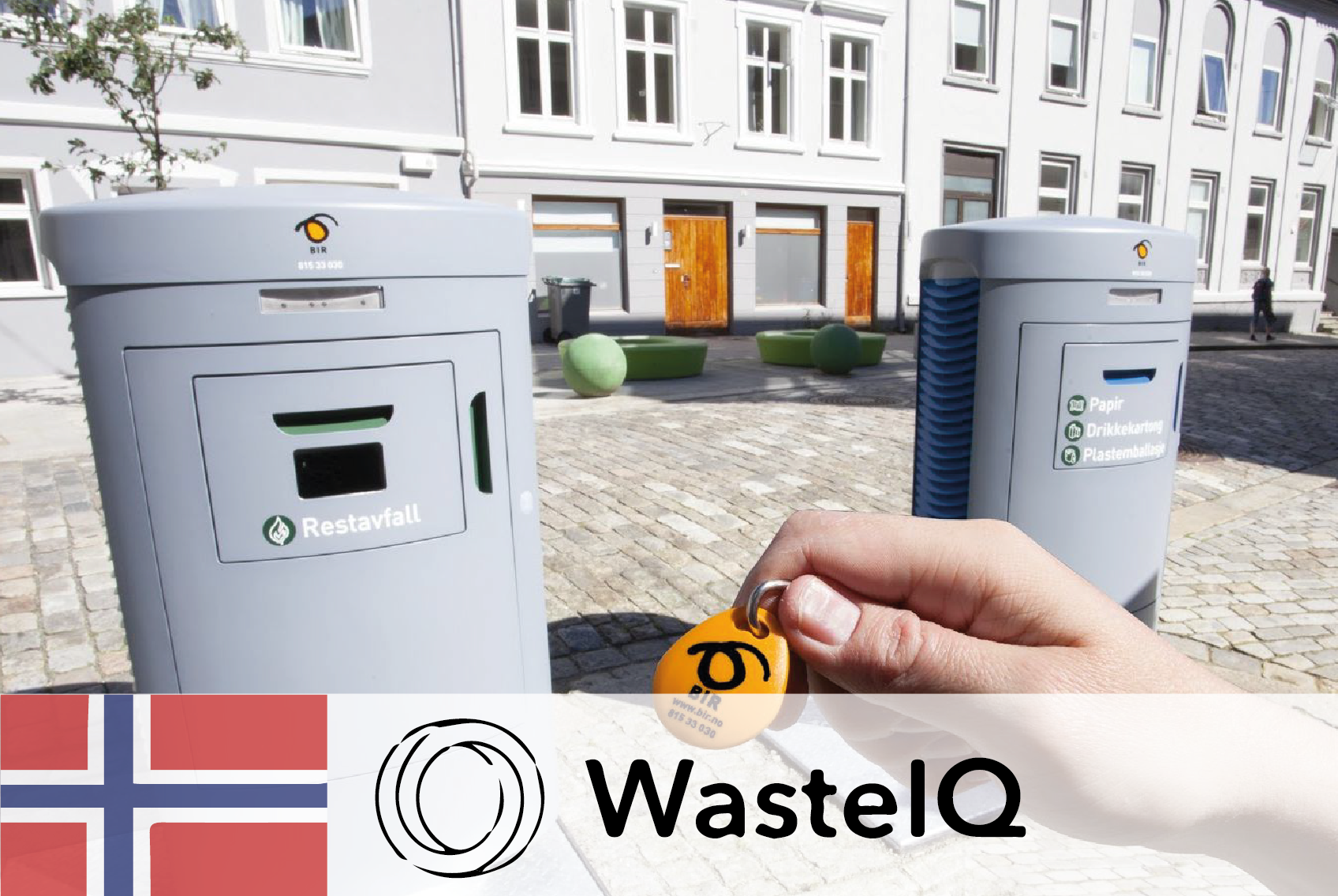 #49 WasteIQ - Smart waste management by pay-as-you-throw - CIRCit Nord