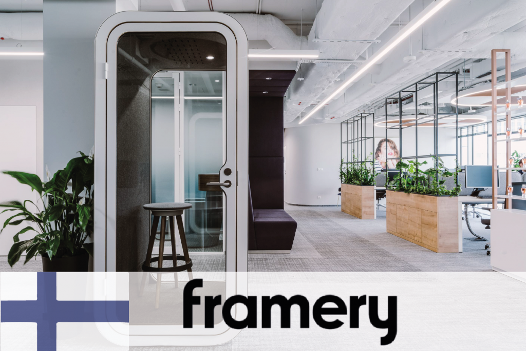 #61 Framery - High quality pods from eco-efficient materials - CIRCit Nord