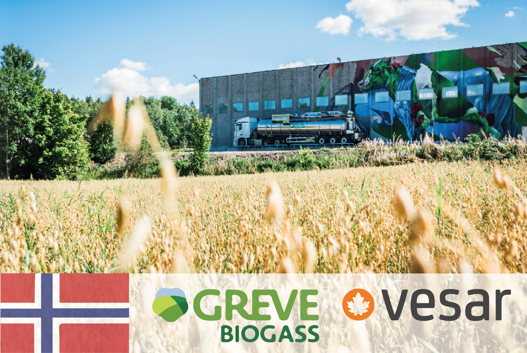 #54 Greve Biogass & Vesar – From waste to food and biogas - CIRCit Nord