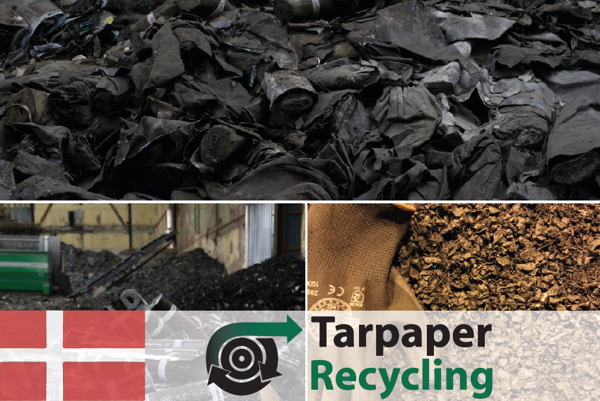 #72 Tarpaper Recycling - Recycling of used roofing felt into asphalt - CIRCit Nord